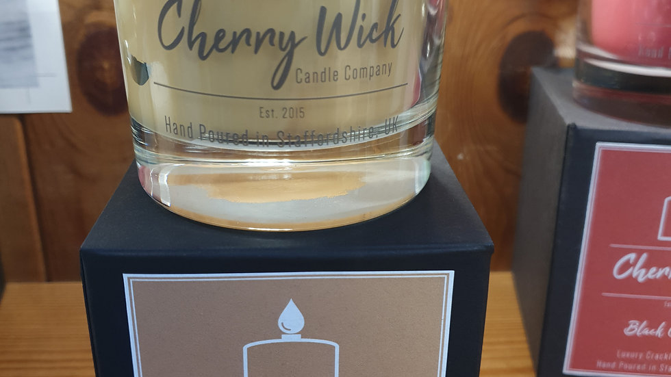 Cherry Wick Candle Sandlewood and Black Pepper