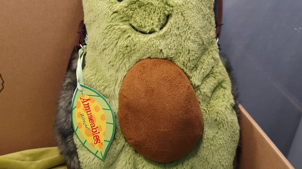 Jellycat Amuseable Avocado bag