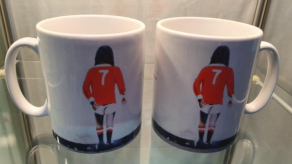 Banksy Mug George Best