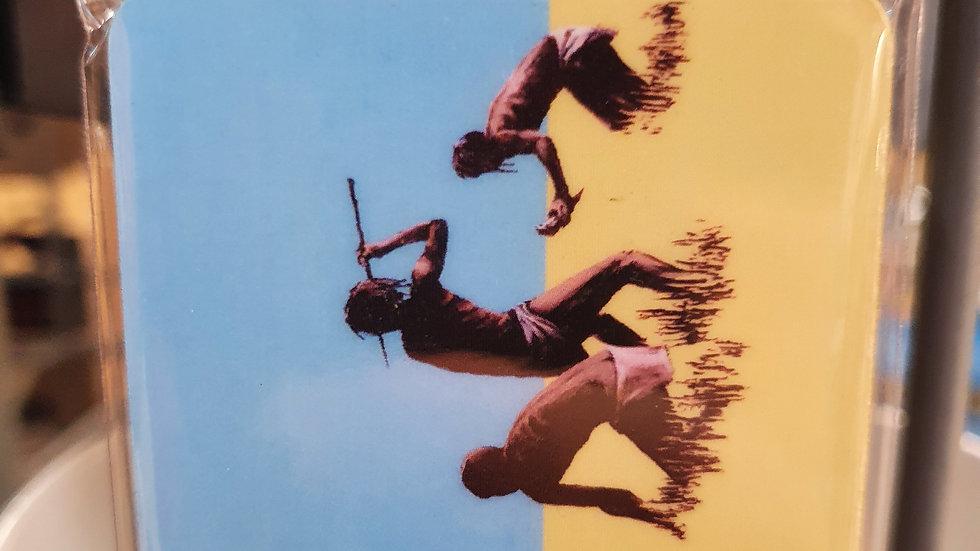 Banksy Wooden Magnet Trolley Hunters