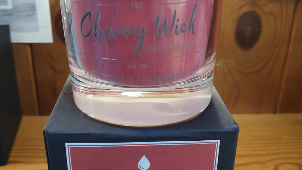 Cherry Wick Candle Black Cherry 30cl