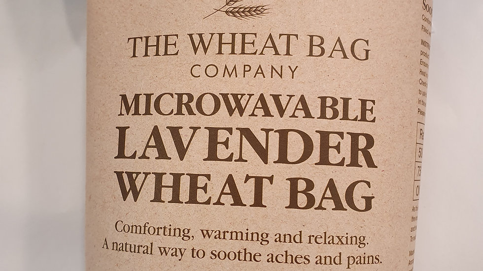 Microwavable Lavender Wheat Bag Rainbow