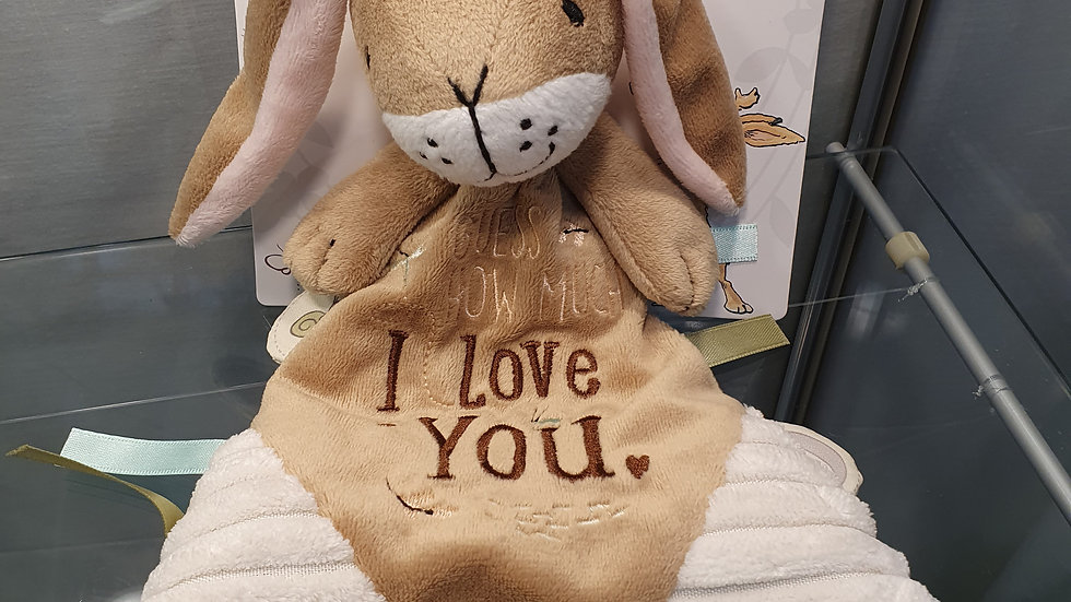 Guess How Much I Love You Comfort Blanket