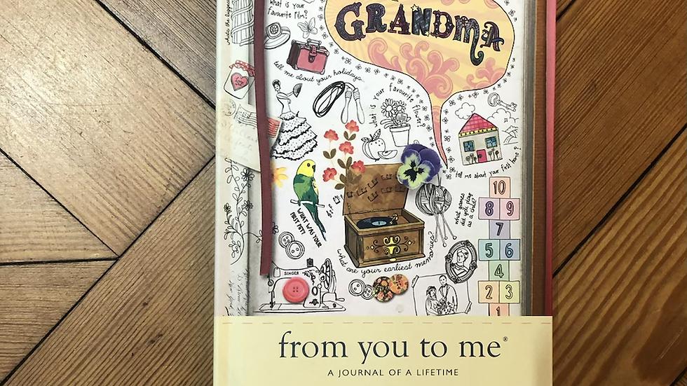 Journal of A Lifetime Grandma
