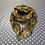 Thumbnail: Cats on mustard scarf