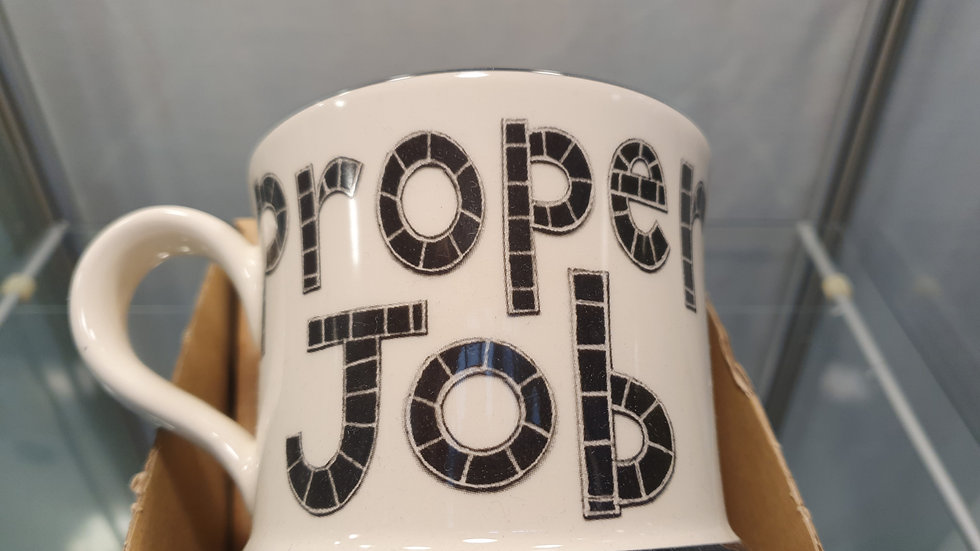 Moorland Pottery Proper Job