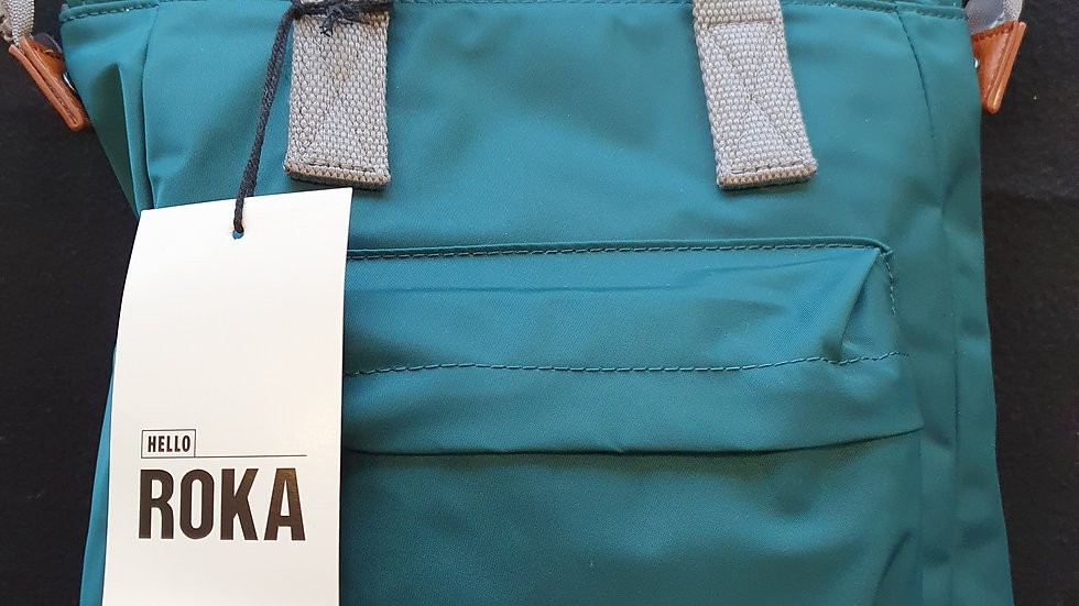 Roka Bantry B Small Teal Bag