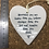 Thumbnail: Ceramic Hanging Heart  Remember You Are Braver