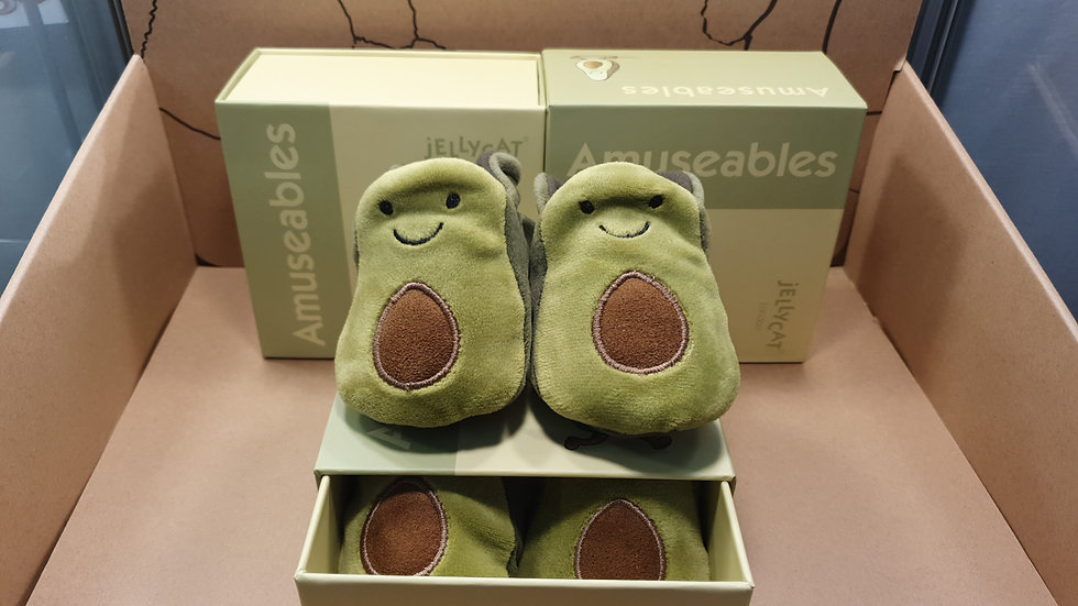 Jellycat Avocado First Booties