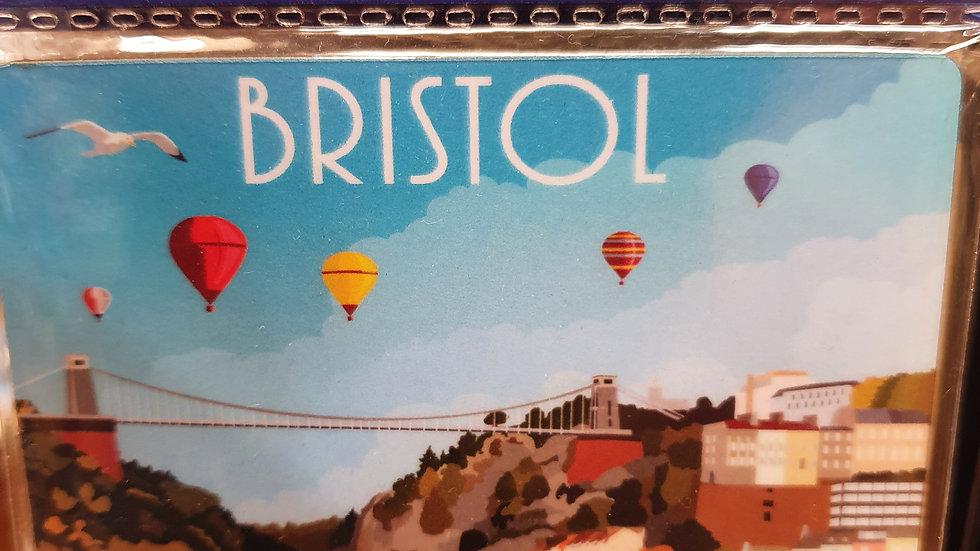 Bristol Wooden Coaster
