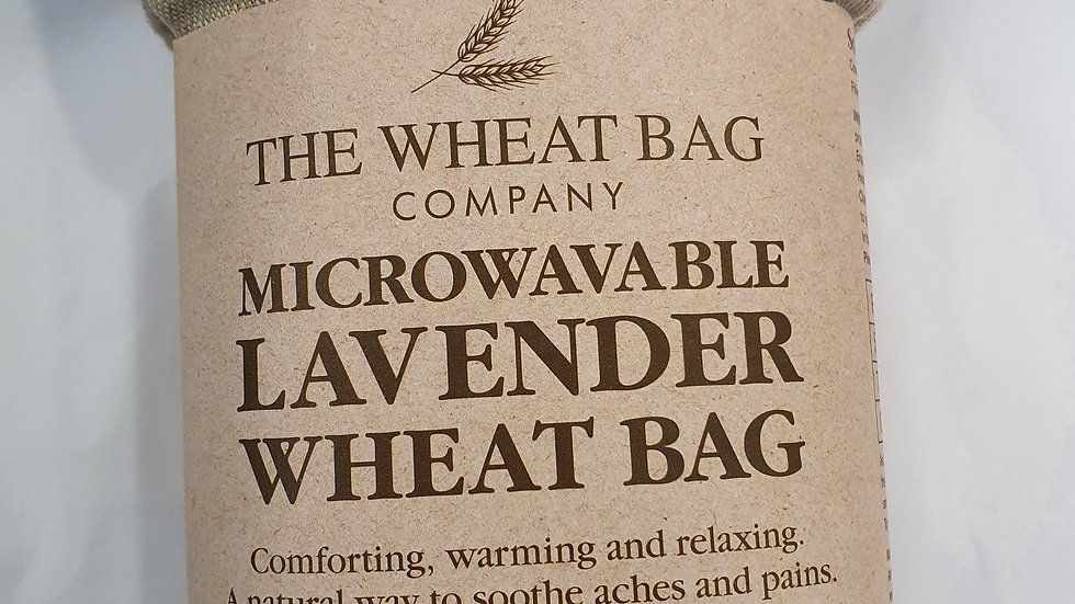 Microwavable Lavender Wheat Bag Owls