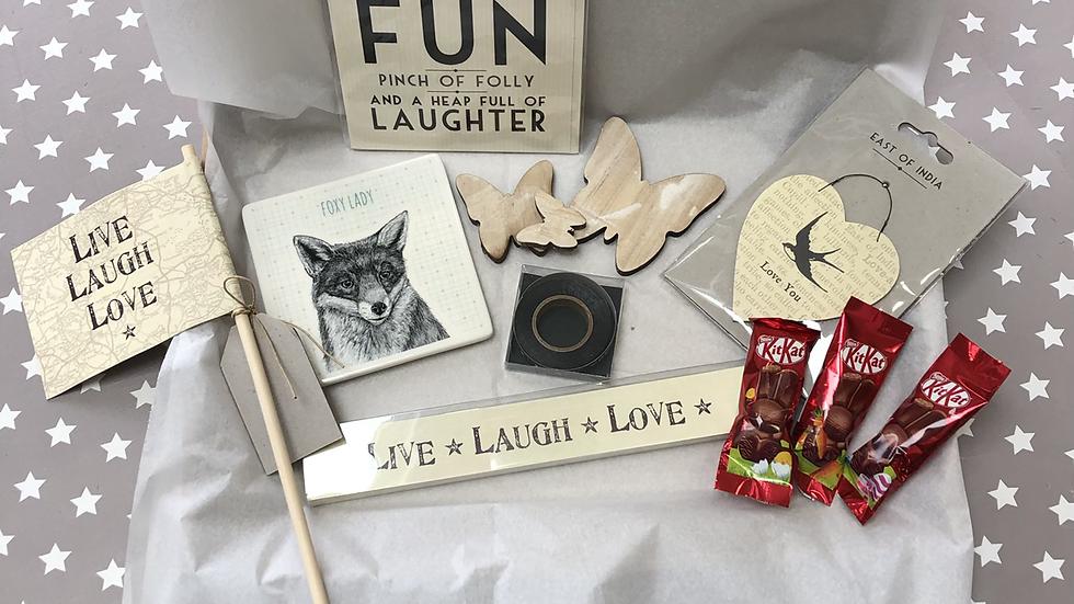 Foxy Lady (Letterbox 12)