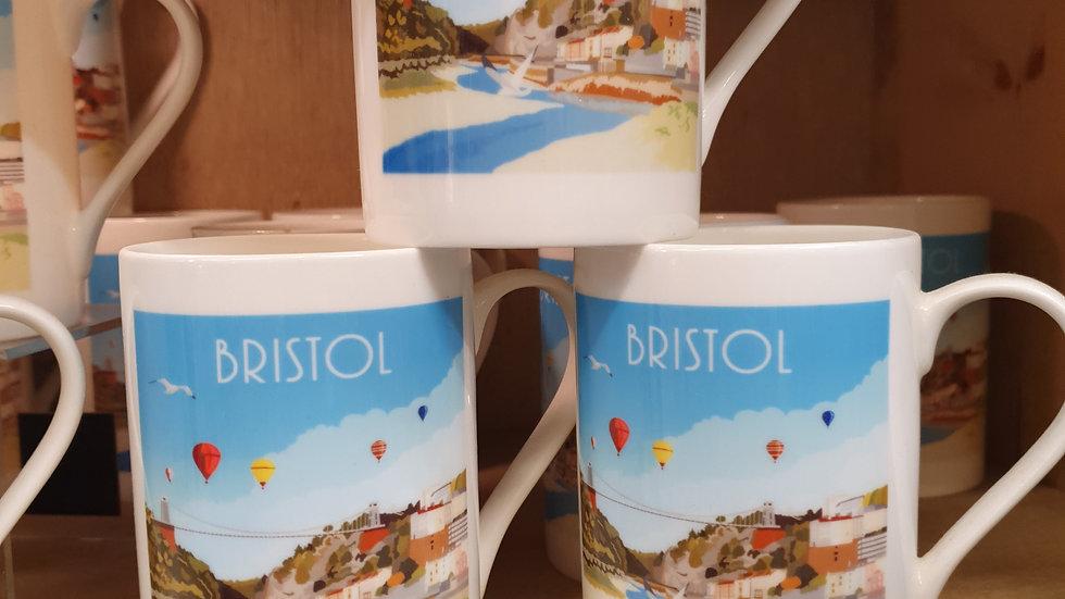 Bone China Bristol Mug