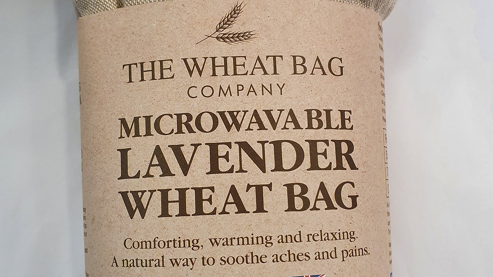 Microwavable Lavender Wheat Bag llama
