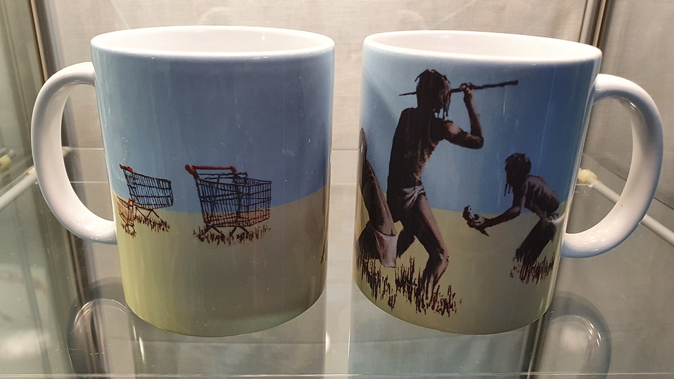 Banksy Mug Trolley Hunters