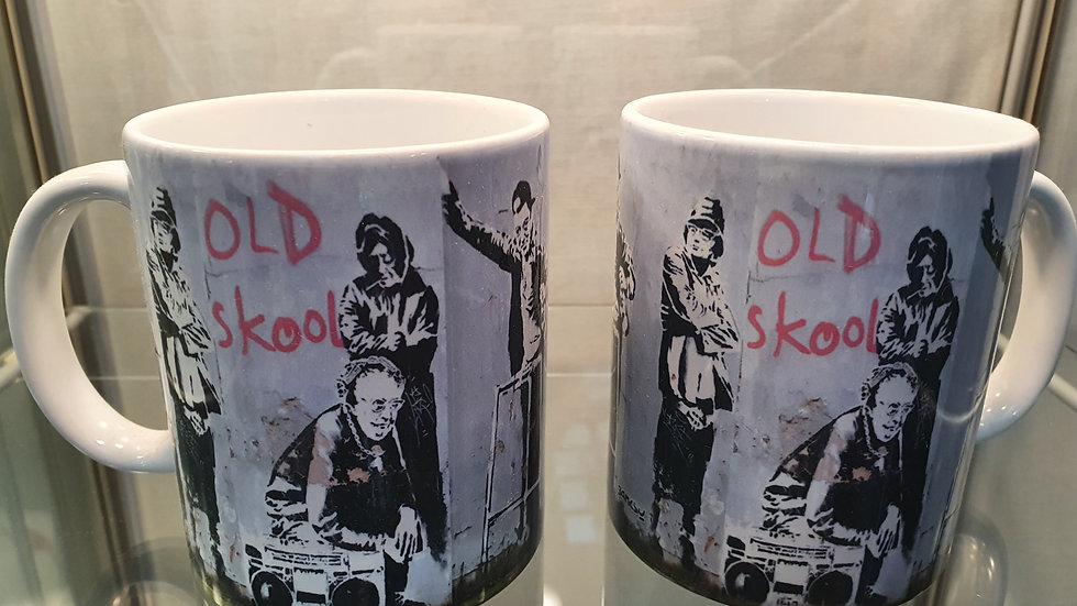 Banksy Mug Old Skool