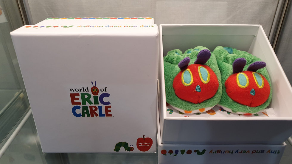Very Hungry Caterpillar First Booties