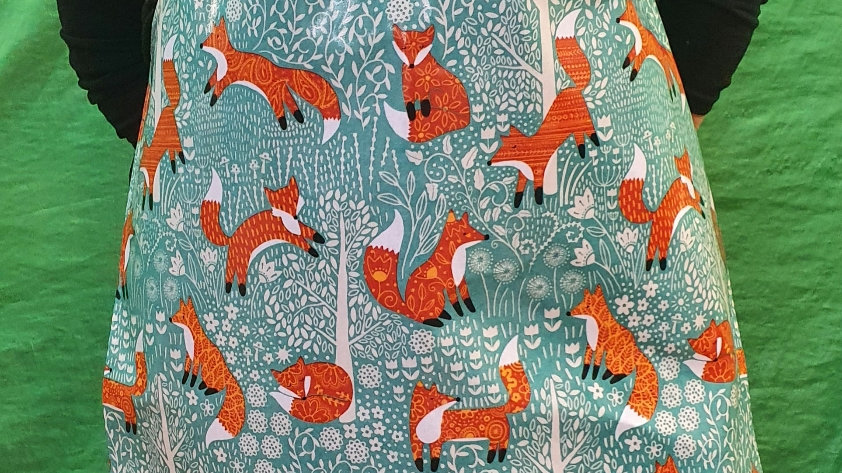 Ulster Weavers PVC Apron Foxes