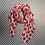 Thumbnail: Poppy on pale pink Scarf