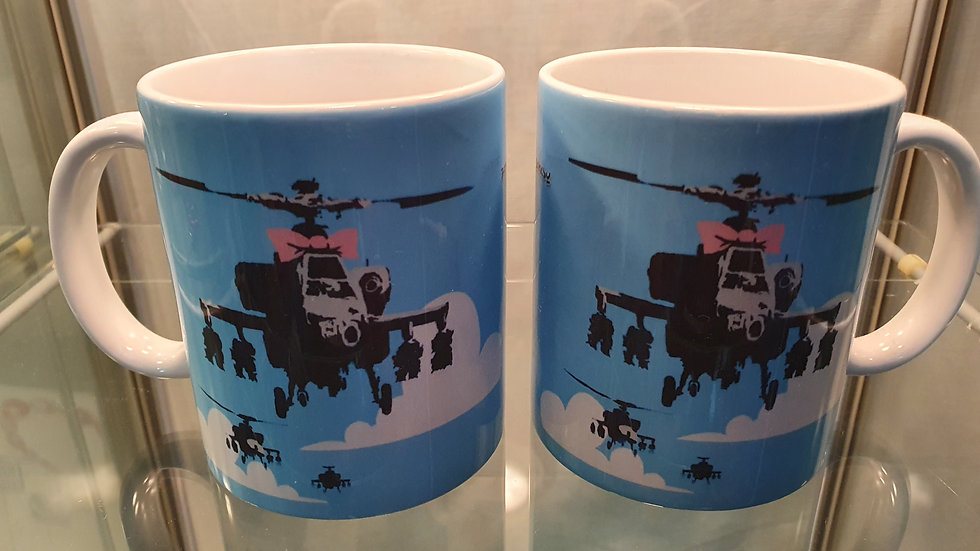 Banksy Mug Choppers