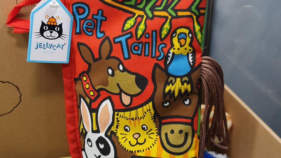 Jellycat Pet Tails Fabric Book