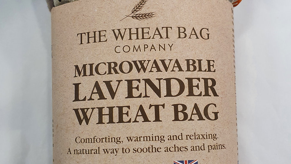 Microwavable Lavender Wheat Bag Foxes