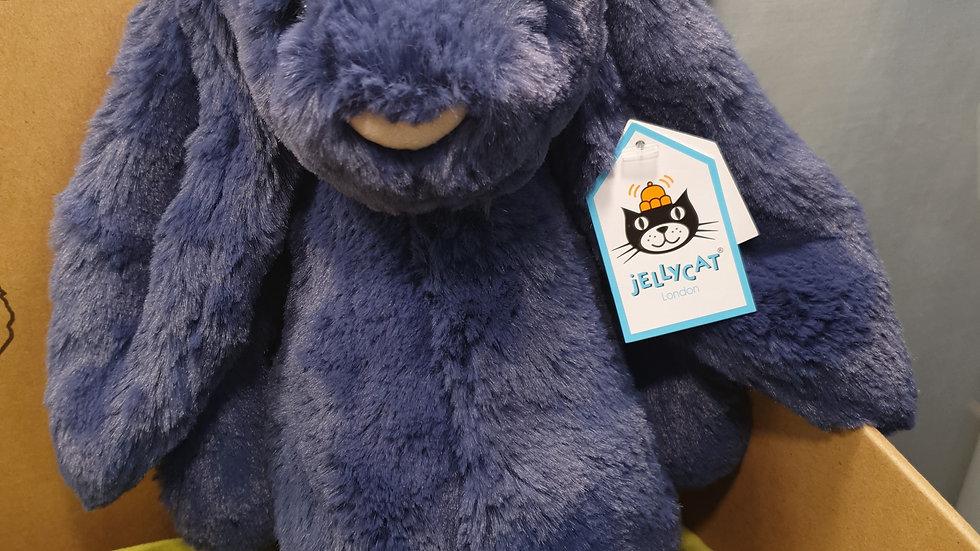 Jellycat Bashful Navy Bunny Meduim
