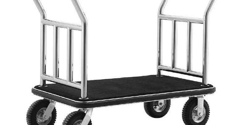 VM Platform - Luggage Trolley Silver - VMPL 3111S