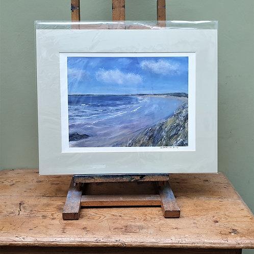 Penrhos beach from Llanddwyn island,Anglesey
