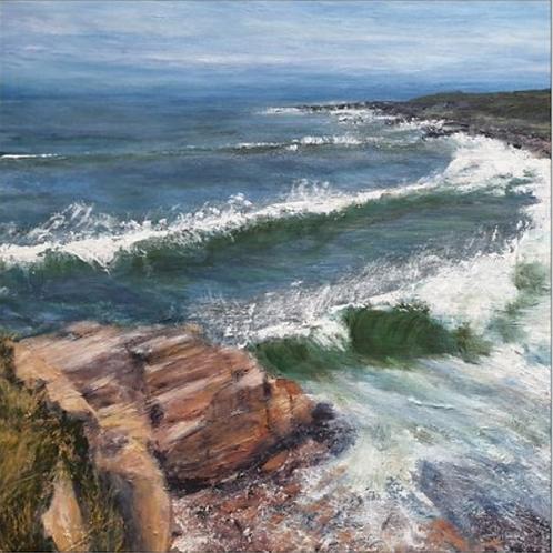 Sandstone and surf - Hopeman