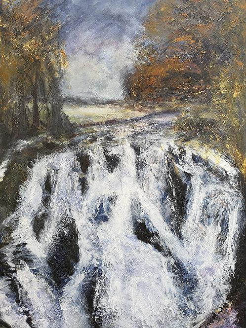 November view to Swallow Falls