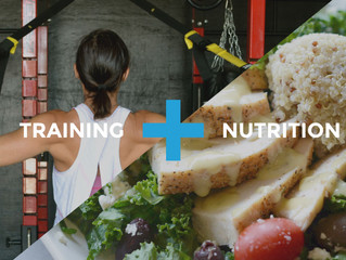 How to Maximize Your Training: Nutrition