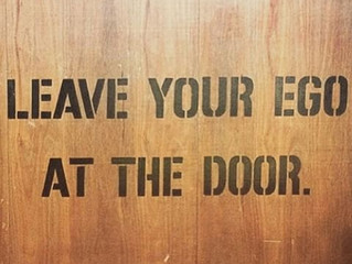 Leave Your Ego At the Door:  A Coach's guide of how to get yourself acclimated back into a GPP /