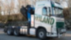 Semitrailer m/kran