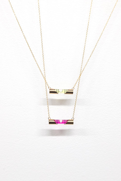 Small Level Necklace by Lauryl Gaumer