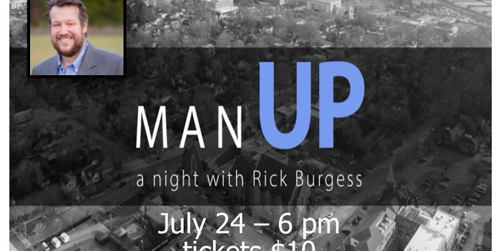 Man Up. . . a night with Rick Burgess - Men's Event
