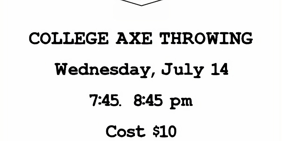 College Axe Throwing