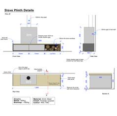 Stove Plinth Drawings