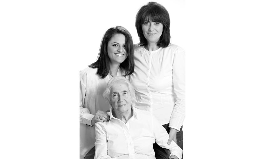 Три поколения жени