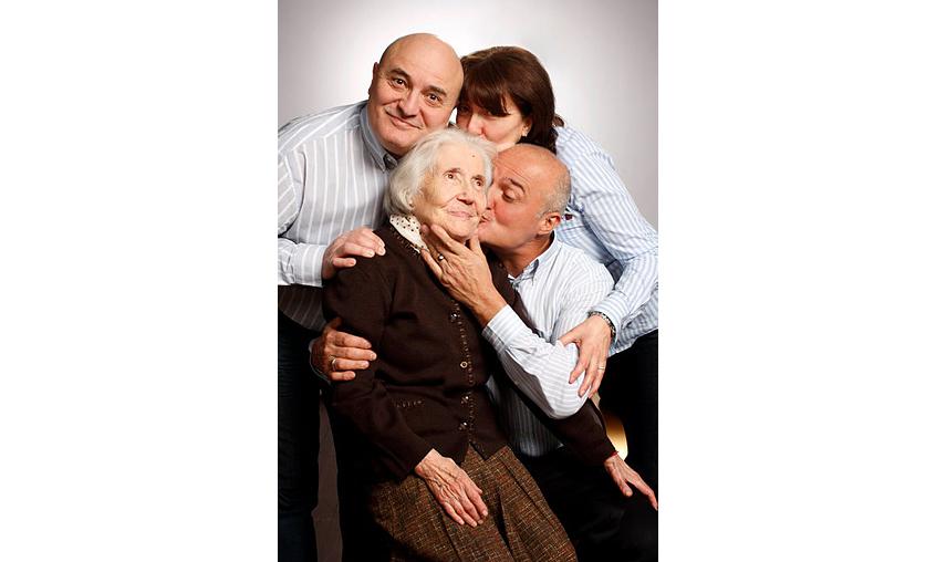 Снимки с мама и баба