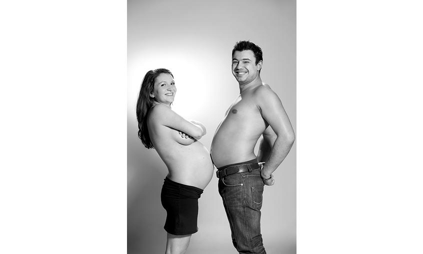 Снимки през бременността