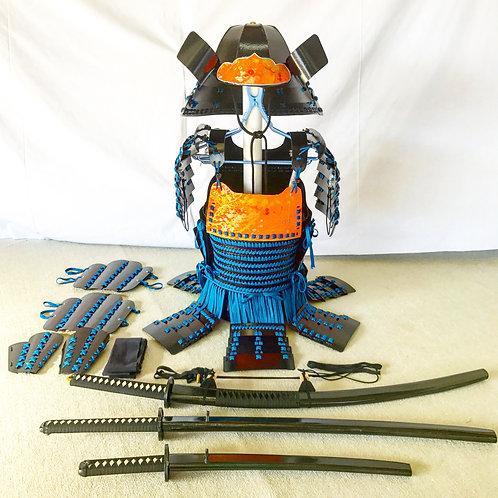 黒甲冑青糸毛引威(Mサイズ)