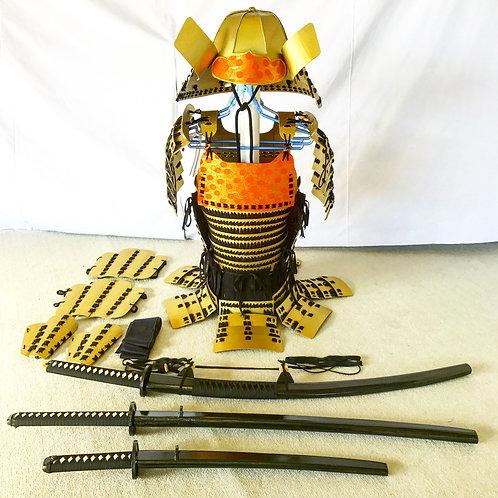 金甲冑黒糸毛引威(Mサイズ)