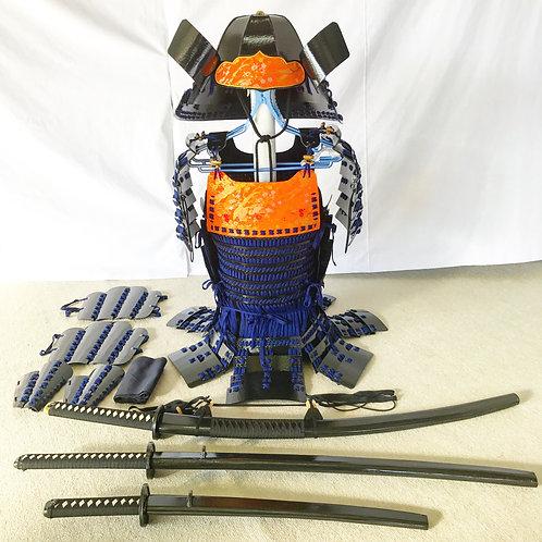 黒甲冑紺糸毛引威(Mサイズ)