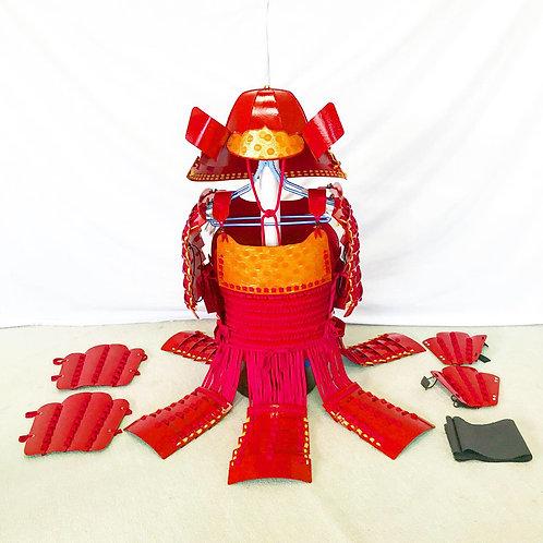 赤甲冑赤糸毛引威(Lサイズ)