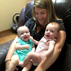 Cuddles with Aunt Aubrey