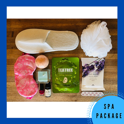 Spa Gift Package // Self Care