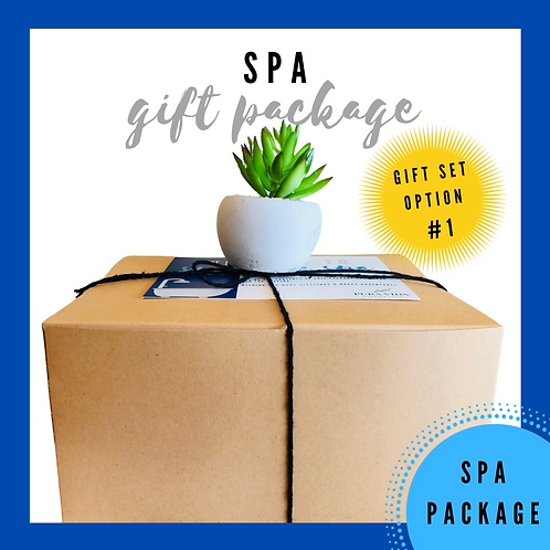 Spa Gift Package // Gift Set Option #1