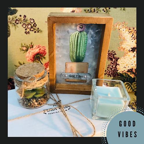 """Good Vibes"" // Housewarming Gift //Realtor Closing Gift"
