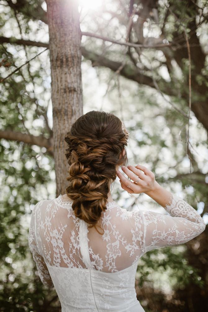 White Riverside Bride